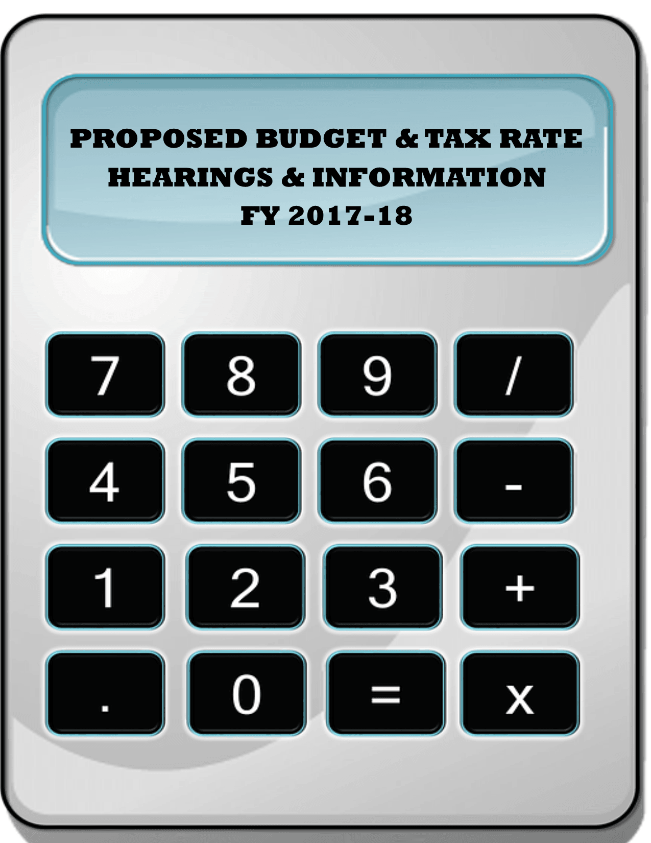 PROPOSED TAX AND BUDGET RATE PIC 2