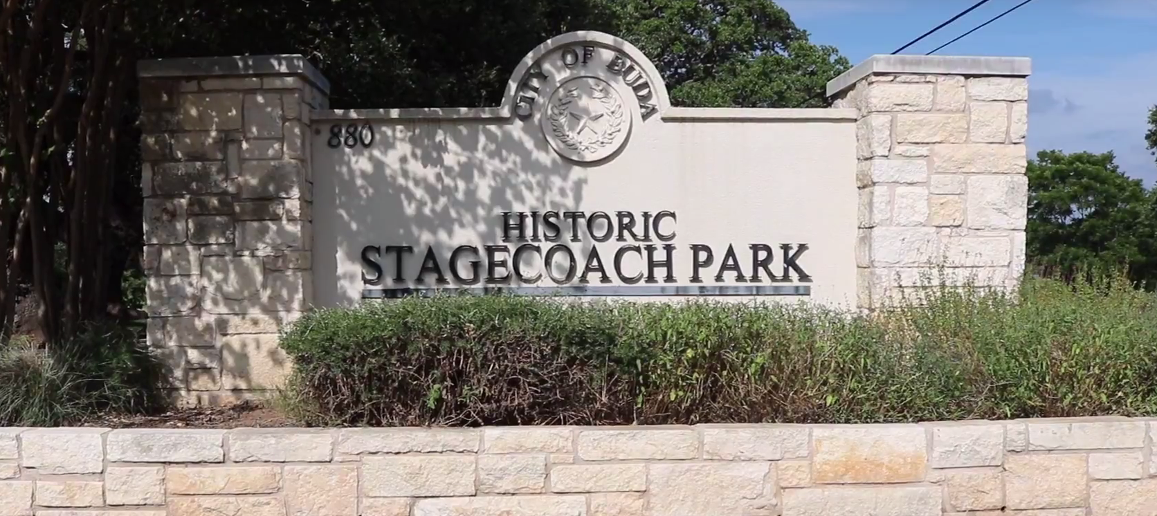stagecoach park sign pic