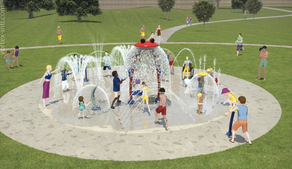 Green Meadows Splashpad 2