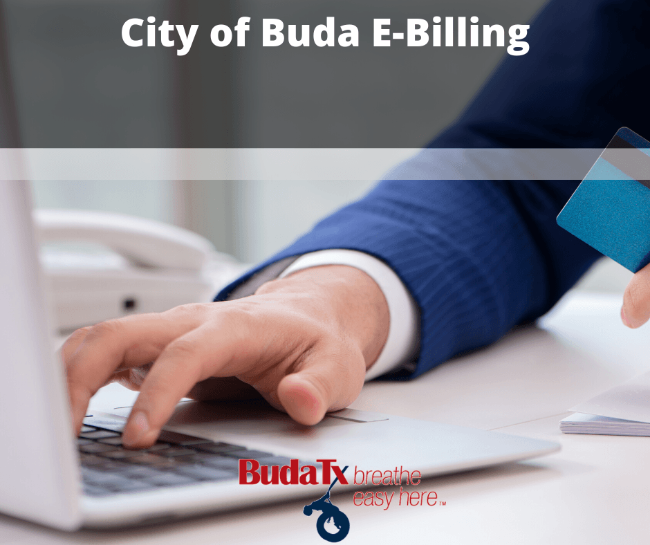 City of Buda E-Billing