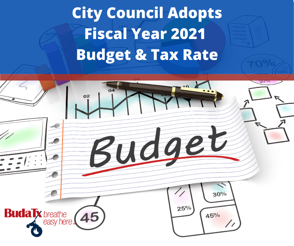Budget and Tax Rate Adopted