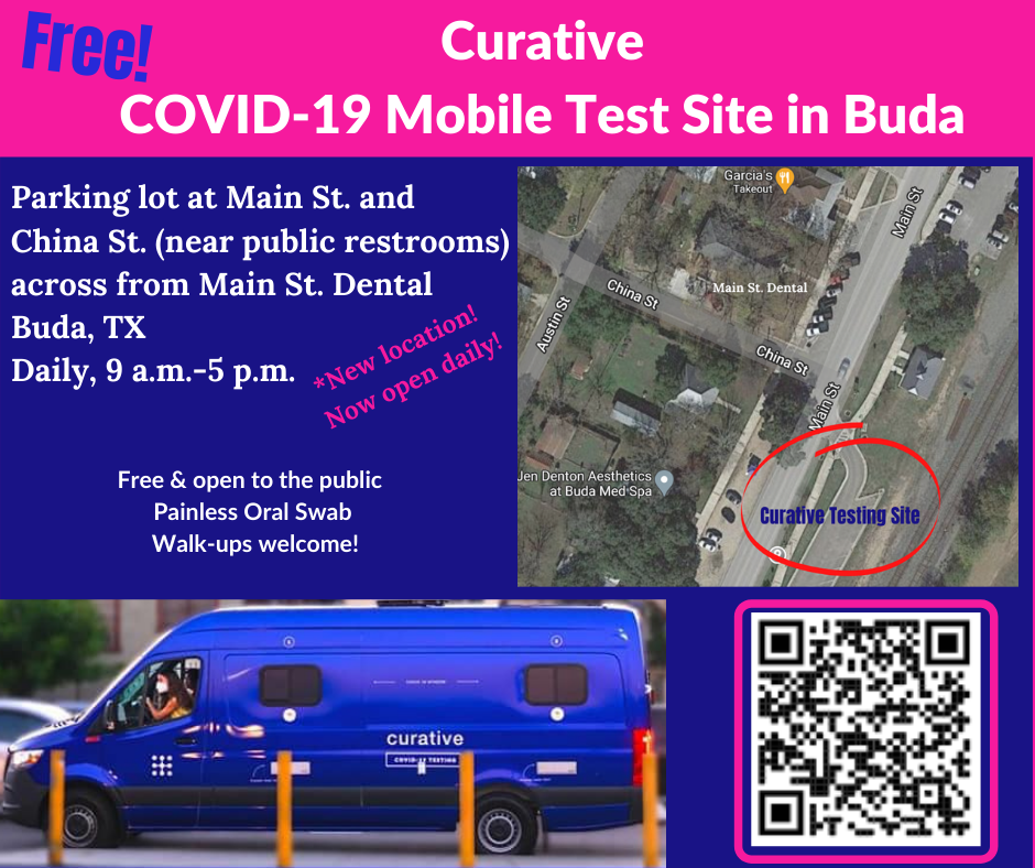 Free COVID-19 Testing Graphic