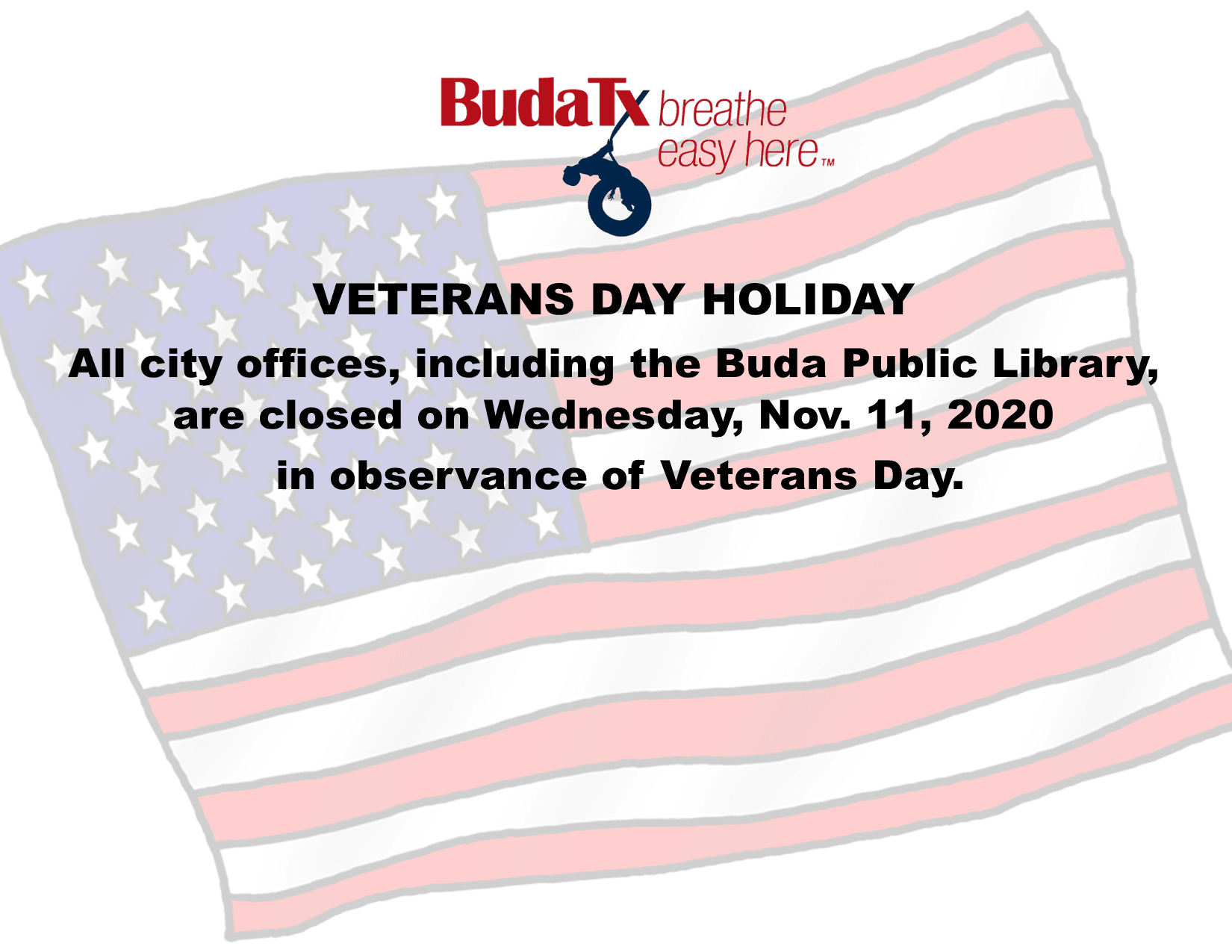 Veterans Day Holiday 2020
