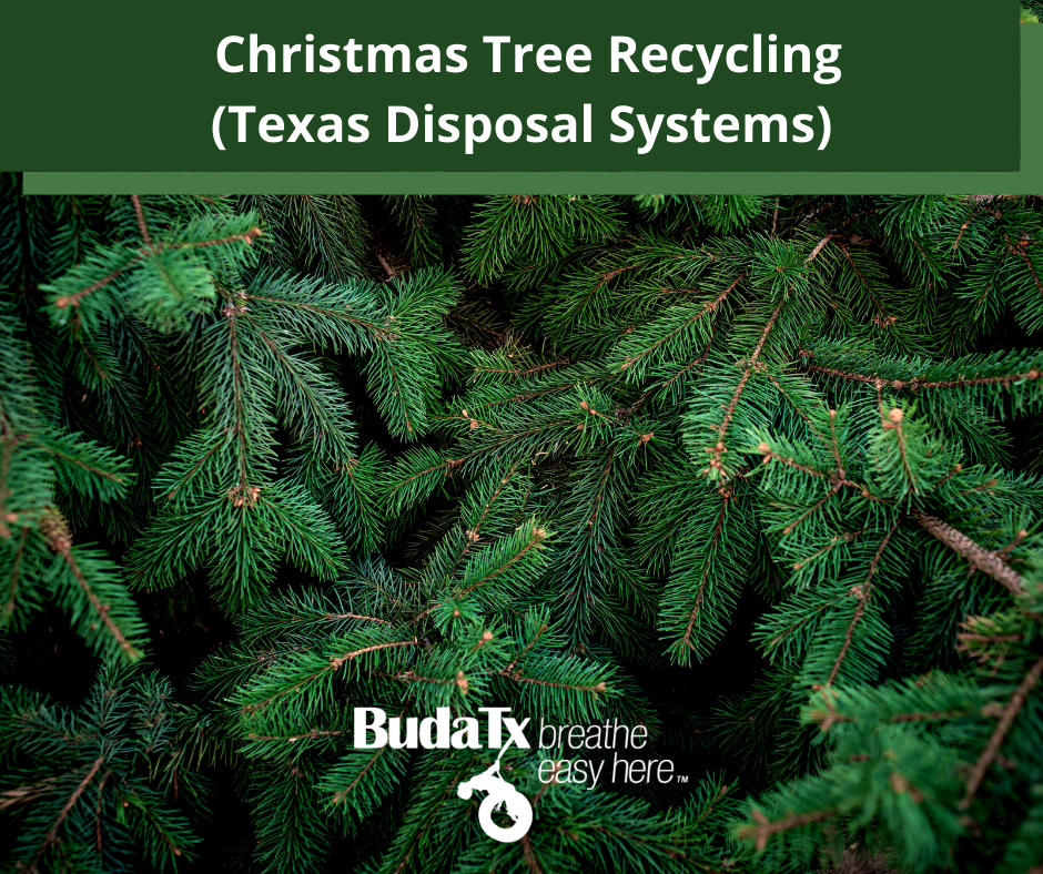 Christmas Tree Recycling (Texas Disposal Systems)