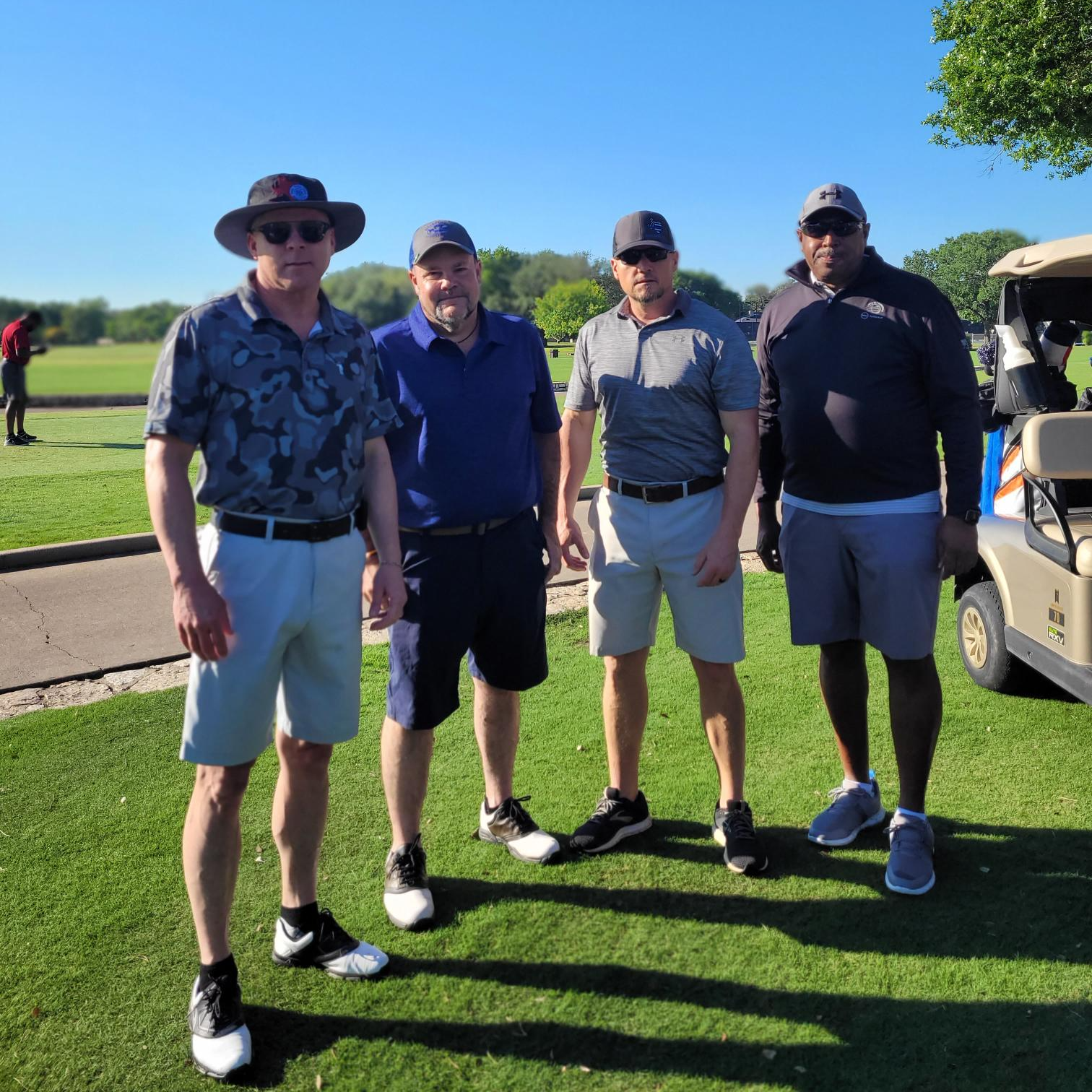 City of Buda employees at the Buda Bogey Golf Classic