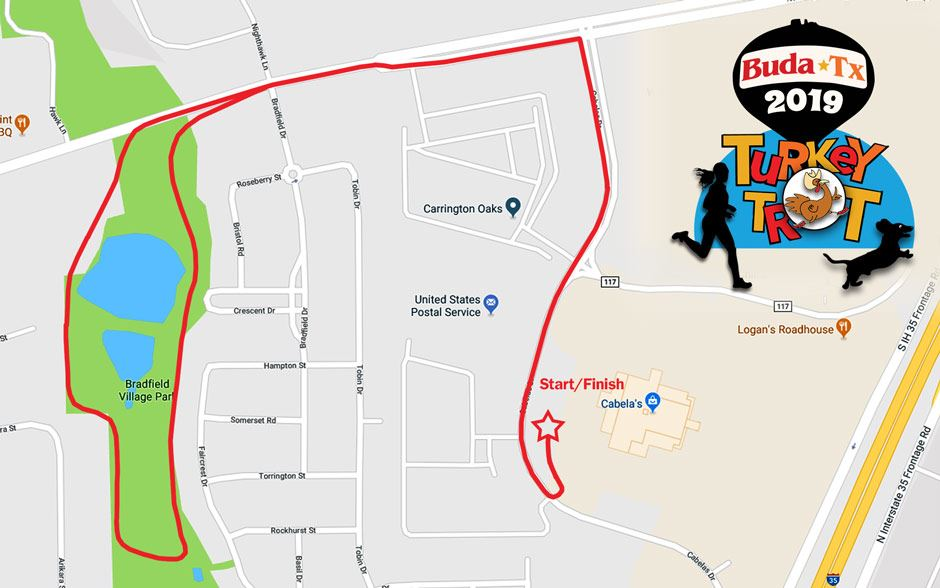 Turkey Trot Map 2019