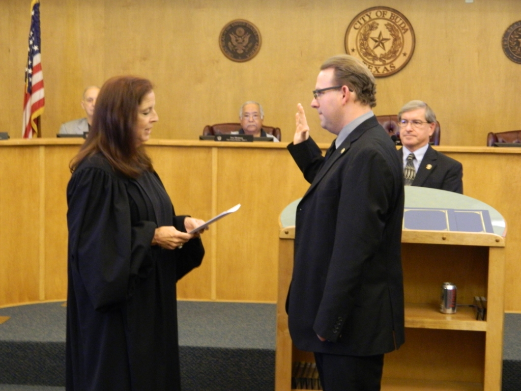 Swearing in of Mayor Todd Ruge