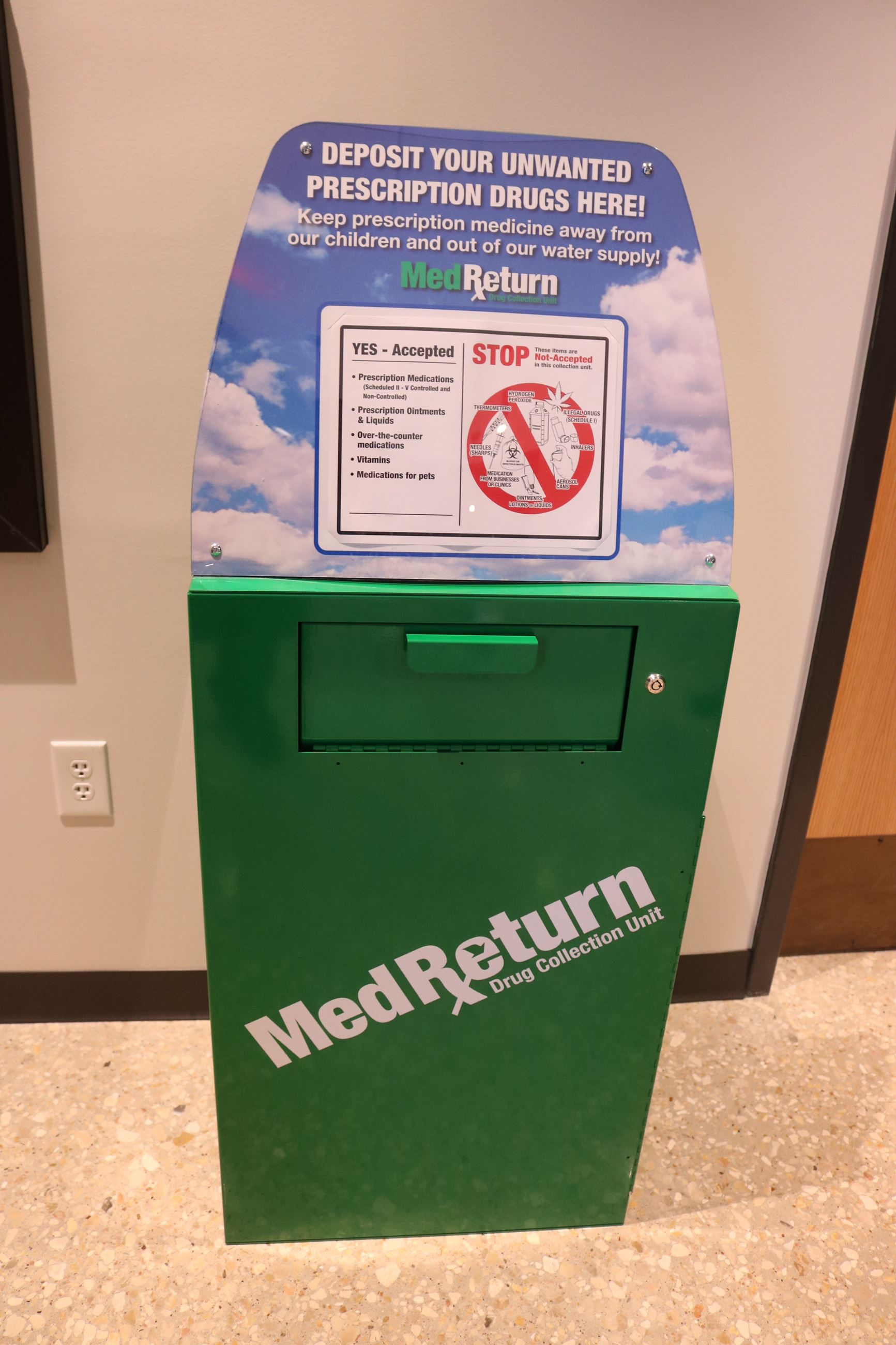 MedReturn Drop Box