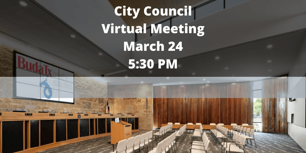 City Council Virtual Meeting - March 24 - Twitter