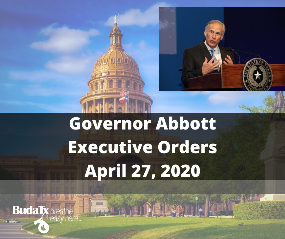 Governor Abbott Executive Order (2)