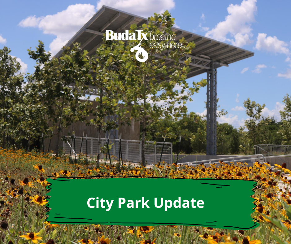 City Park Update Aug. 10, 2020