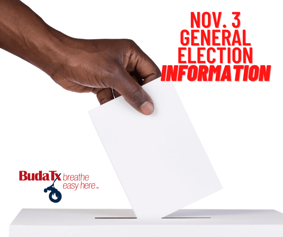 Nov. 3 election information (1)