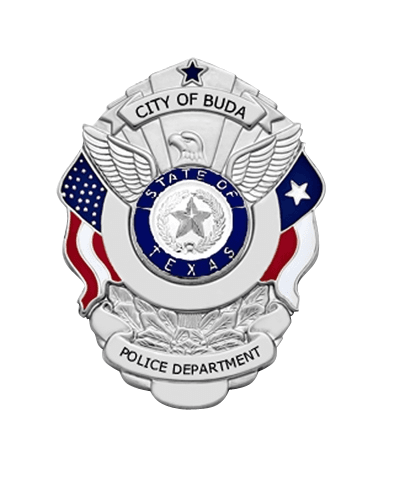 Buda PD Badge