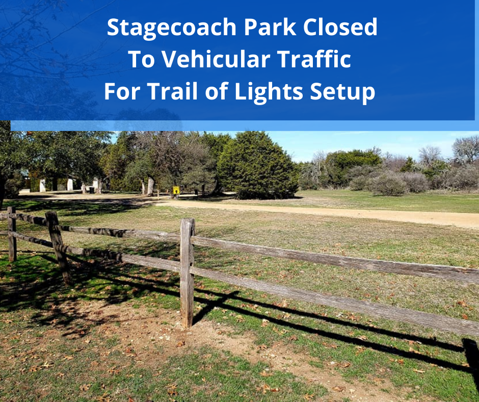 Stagecoach Park Closed To Vehicular Traffic (1)