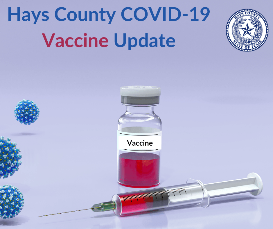 Hays County Vaccine Update
