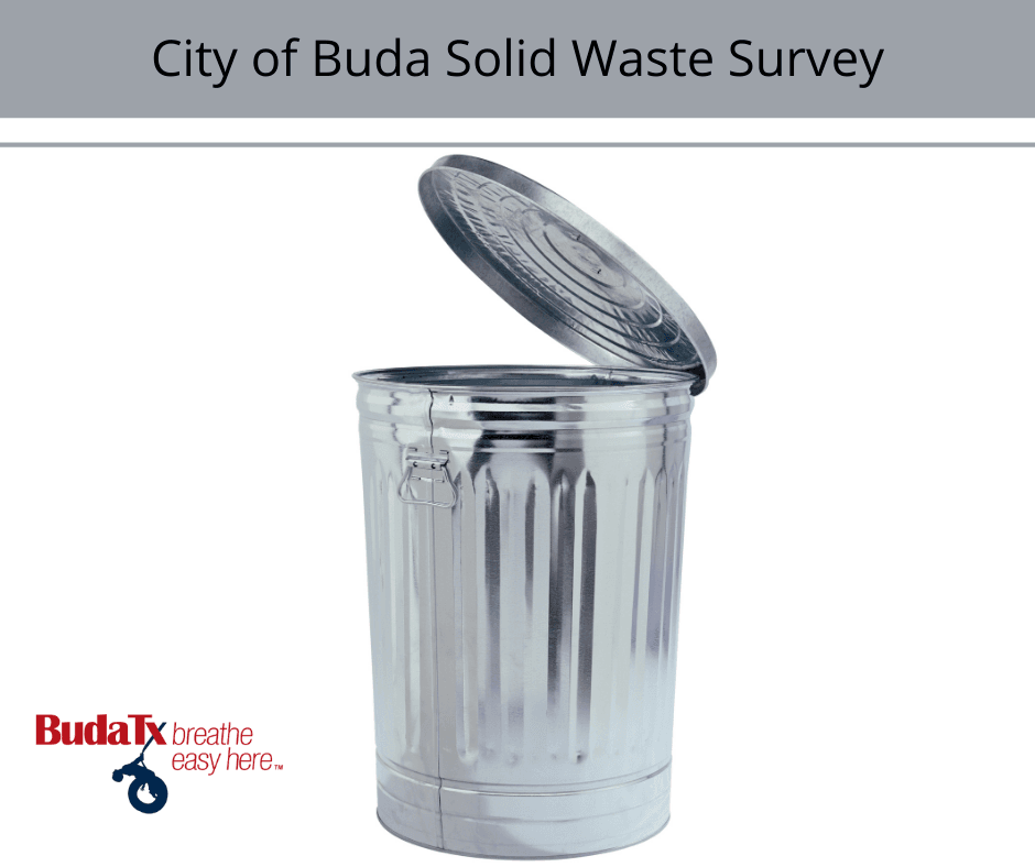 City of Buda Solid Waste Survey