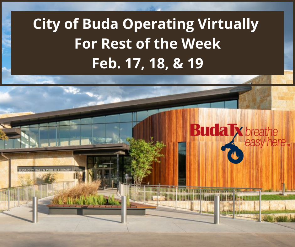 City of Buda Operating Virtually