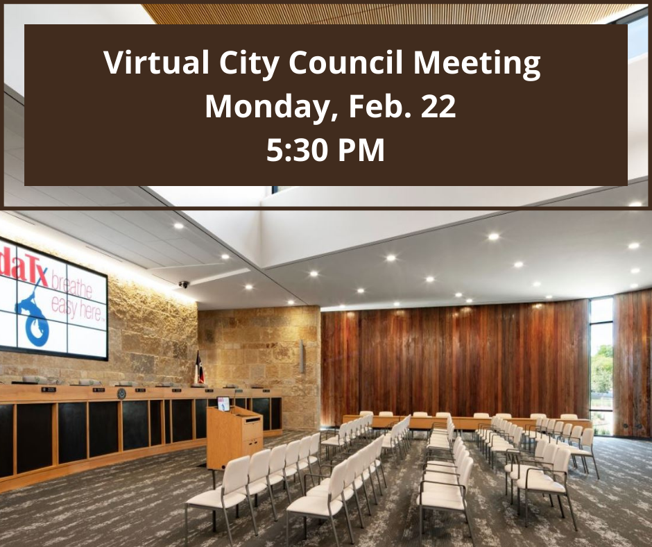 City Council Meeting For Tuesday, Feb. 16 Canceled (1)