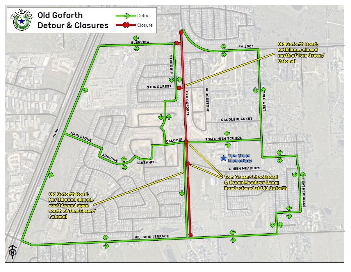 Old Goforth Improvement Project - June 2019