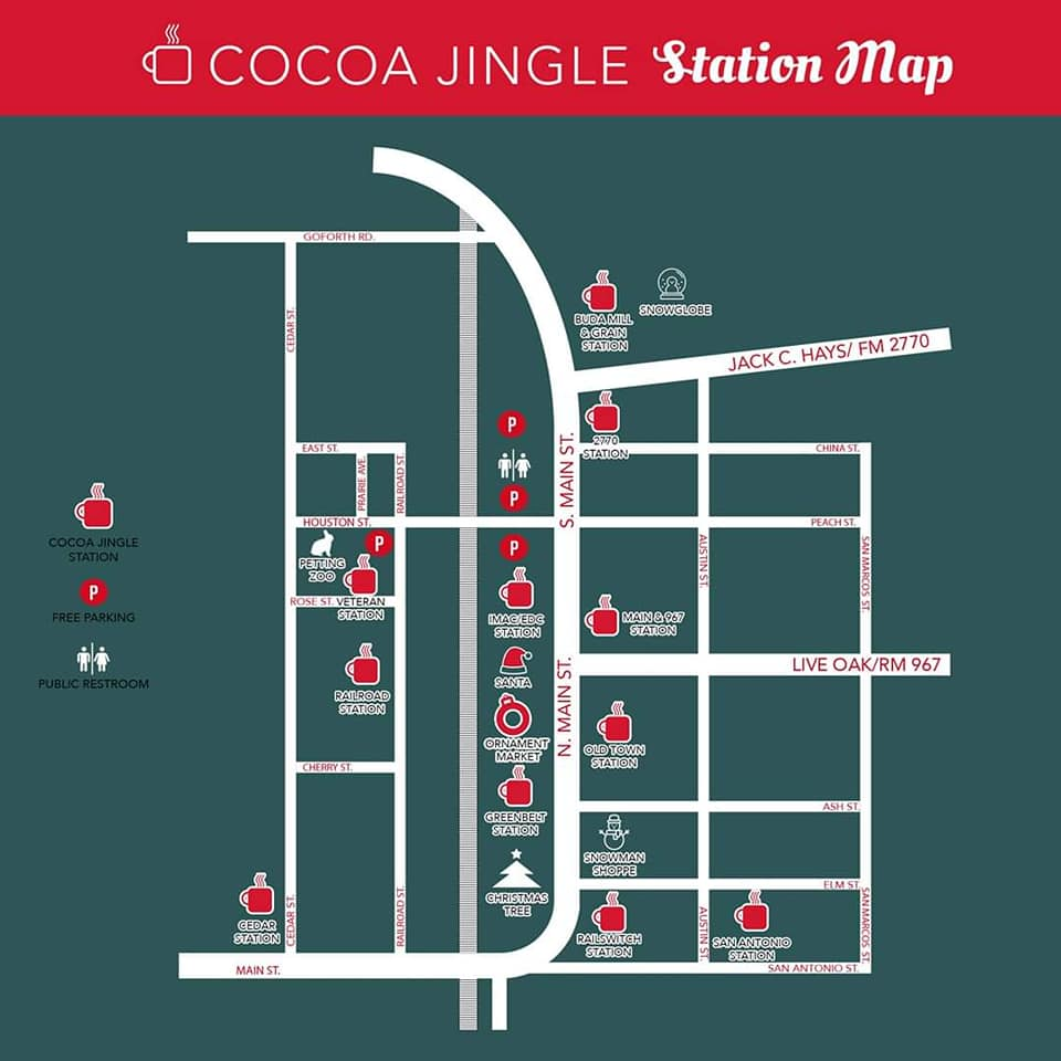 cocoa jingle map