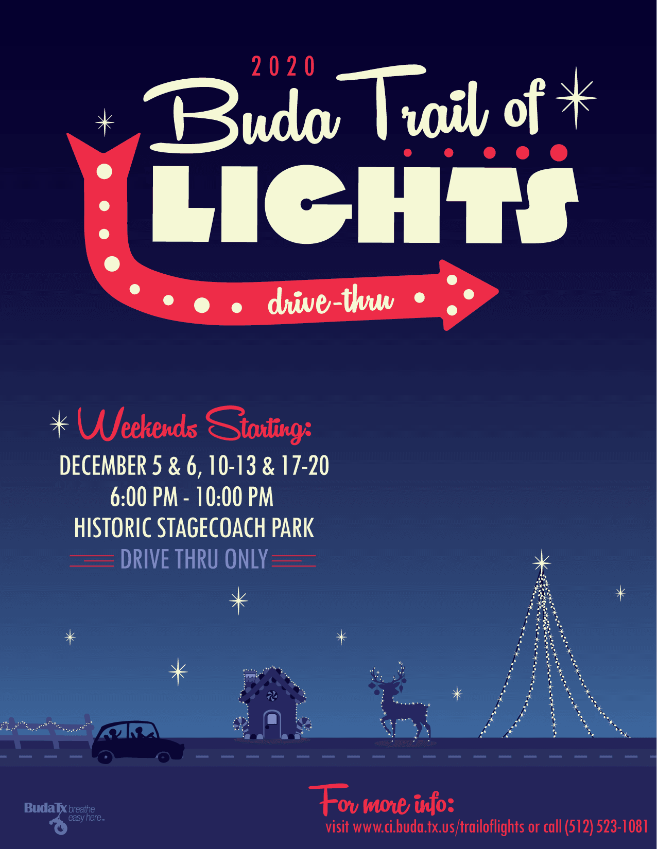 Trail of Lights 2020 Flyer